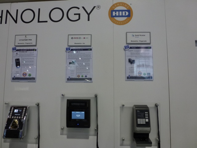 Biometric products from HID partners