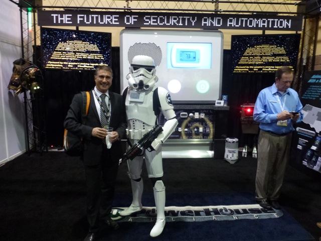 Star Wars Empire soldier, PowerHouse, ISC West 2012