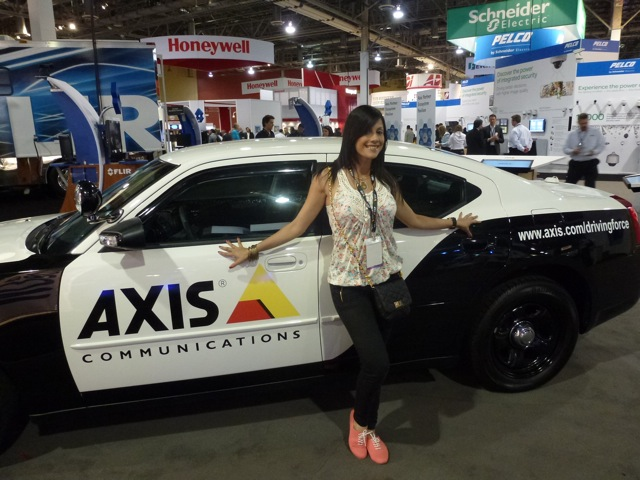 Swedish Axis Communication at ISC West 2012
