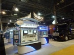 The Swedish Giant Assa Abloy gigantic booth at ISC West 2012