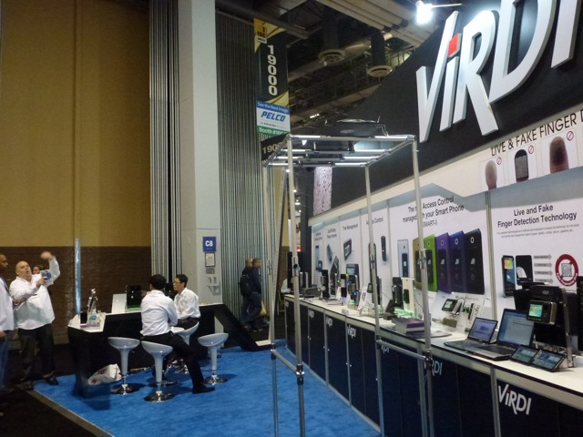 Jonathan Kahn of Virdi showed diverse categories of products, ISC West 2012