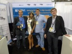 Shiny happy people at InfiNet, ISC West 2012