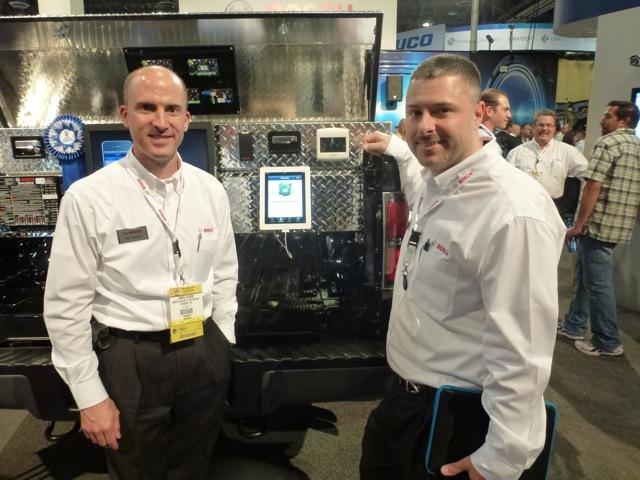 Bosch's NPS winner demoed on the iPad, ISC West 2012