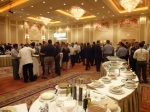 First night reception, great food and drinks by Tyco Security, ISC West 2012