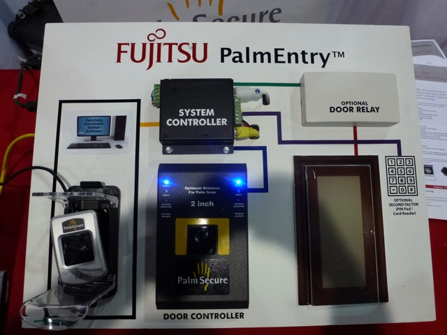 PalmEntry by Fujitsu Frontech North America, ISC West 2012