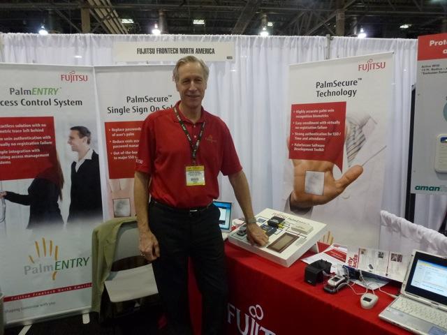 Christer Bergman of Fujitsu Frontech North America, ISC West 2012