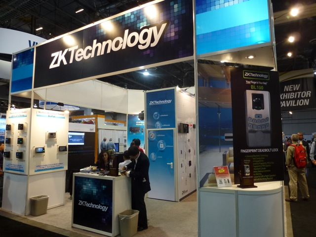 ZK Technology ISC West 2012