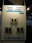 Standalone Access reader controller F6-F18-FR1200 by ZK Technology, ISC West 2012