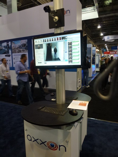 Facial recognition solution by Axxon, ISC West 2012
