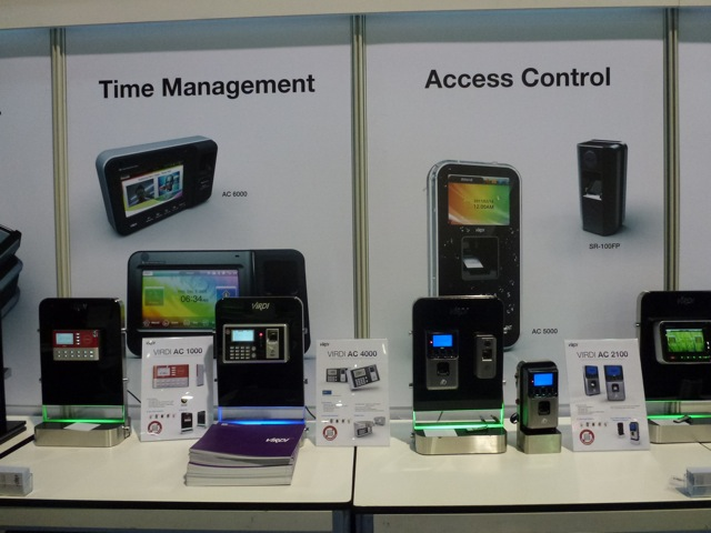Time Management Access Control products by Virdi, ISC West 2012
