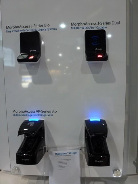 Morpho Access J-Series Bio Dual VP, ISC West 2012