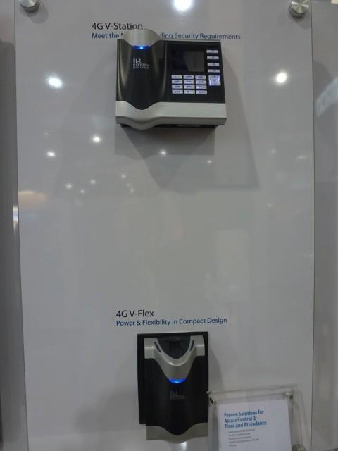 4G V Station & 4G V Flex by Morpho, ISC West 2012