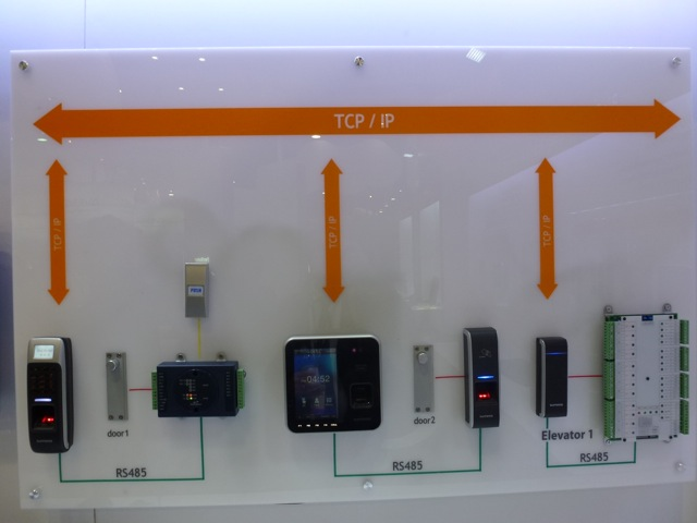 Suprema products TCP IP, ISC West 2012