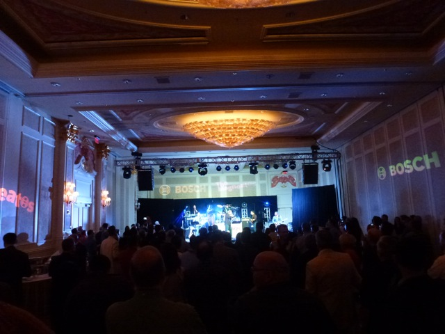 Fantastic performance: Another Brick in the Wall, Pink Floyd, performed by Bosch's The Magneatos, ISC_West_2012