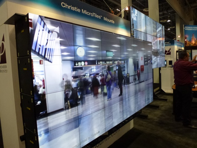 Cool Christi MircoTiles, ISC West 2012